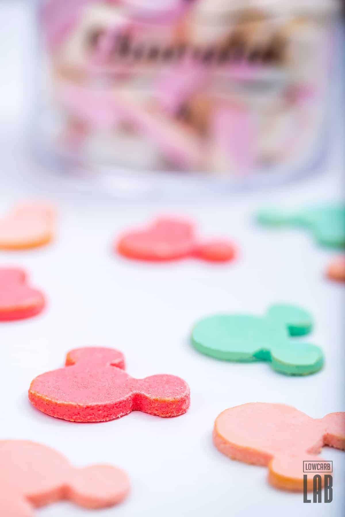 Sugar-free Mickey Cookies