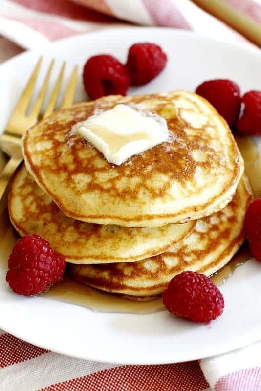 Fluffy Coconut Flour Pancake