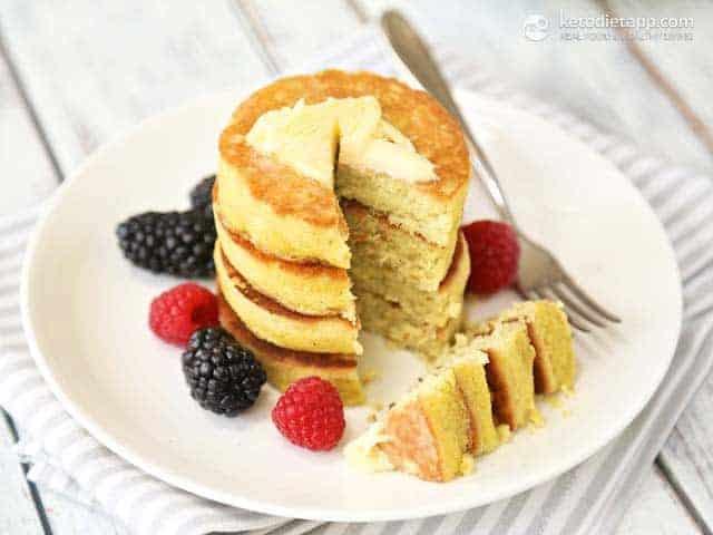 Basic Keto Pancakes