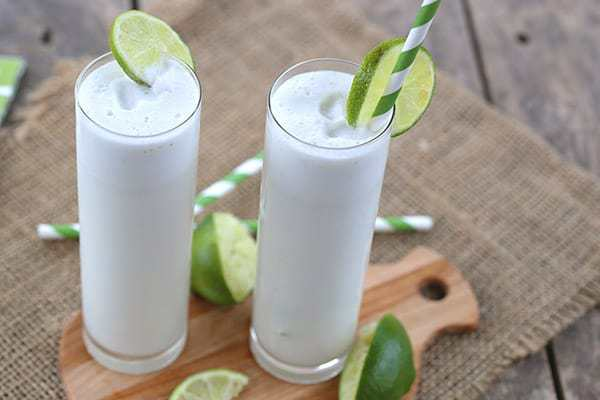 Low Carb Coconut Lime Coolers