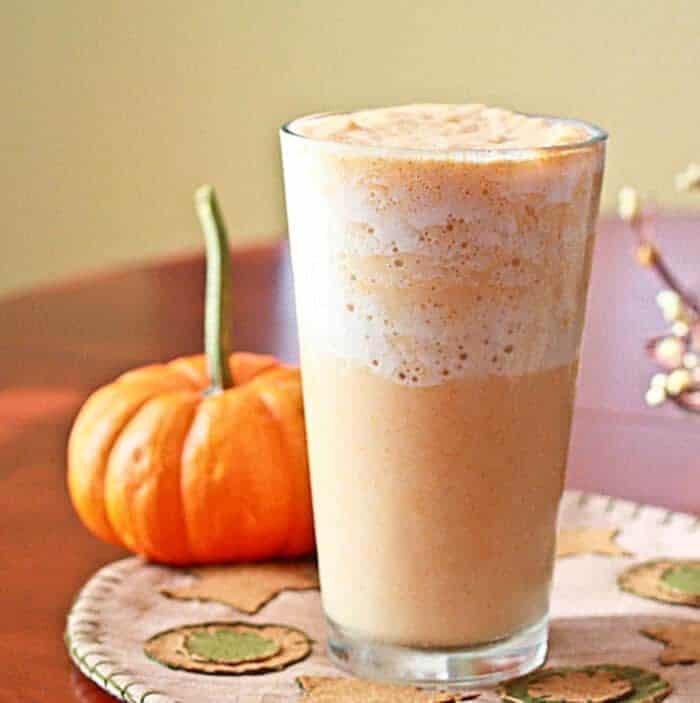 Low-Carb Pumpkin Spice Smoothie