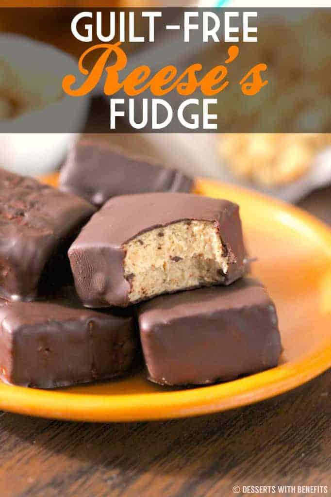 Healthy Reeses Fudge