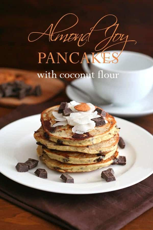 Almond Joy Pancakes