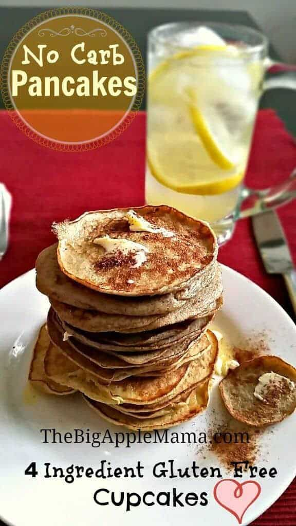 No-Carb Pancakes with only 4 Ingredients