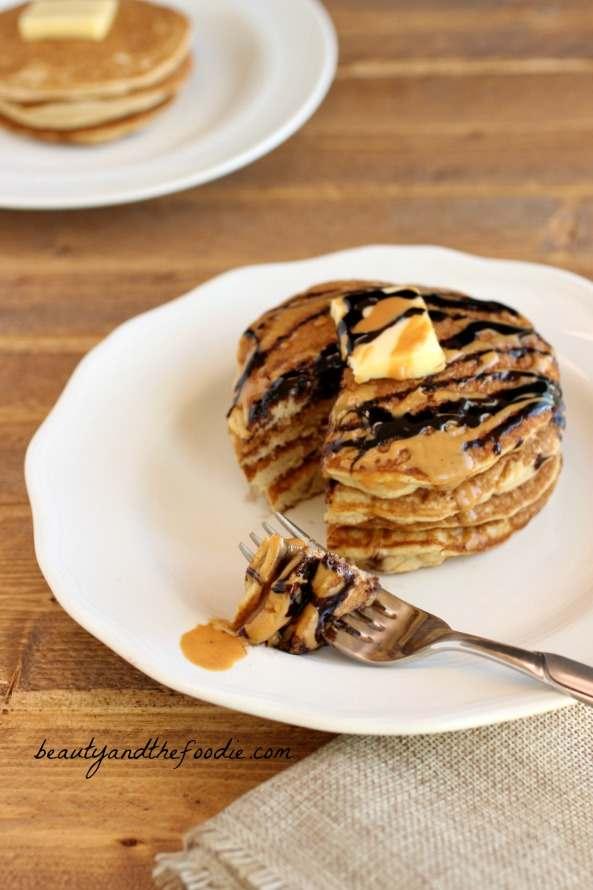Choco Nutty Tiger Pancake