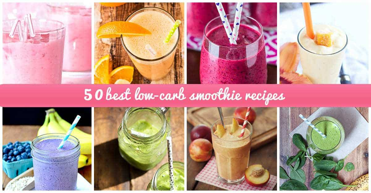best low-carb smoothie ideas