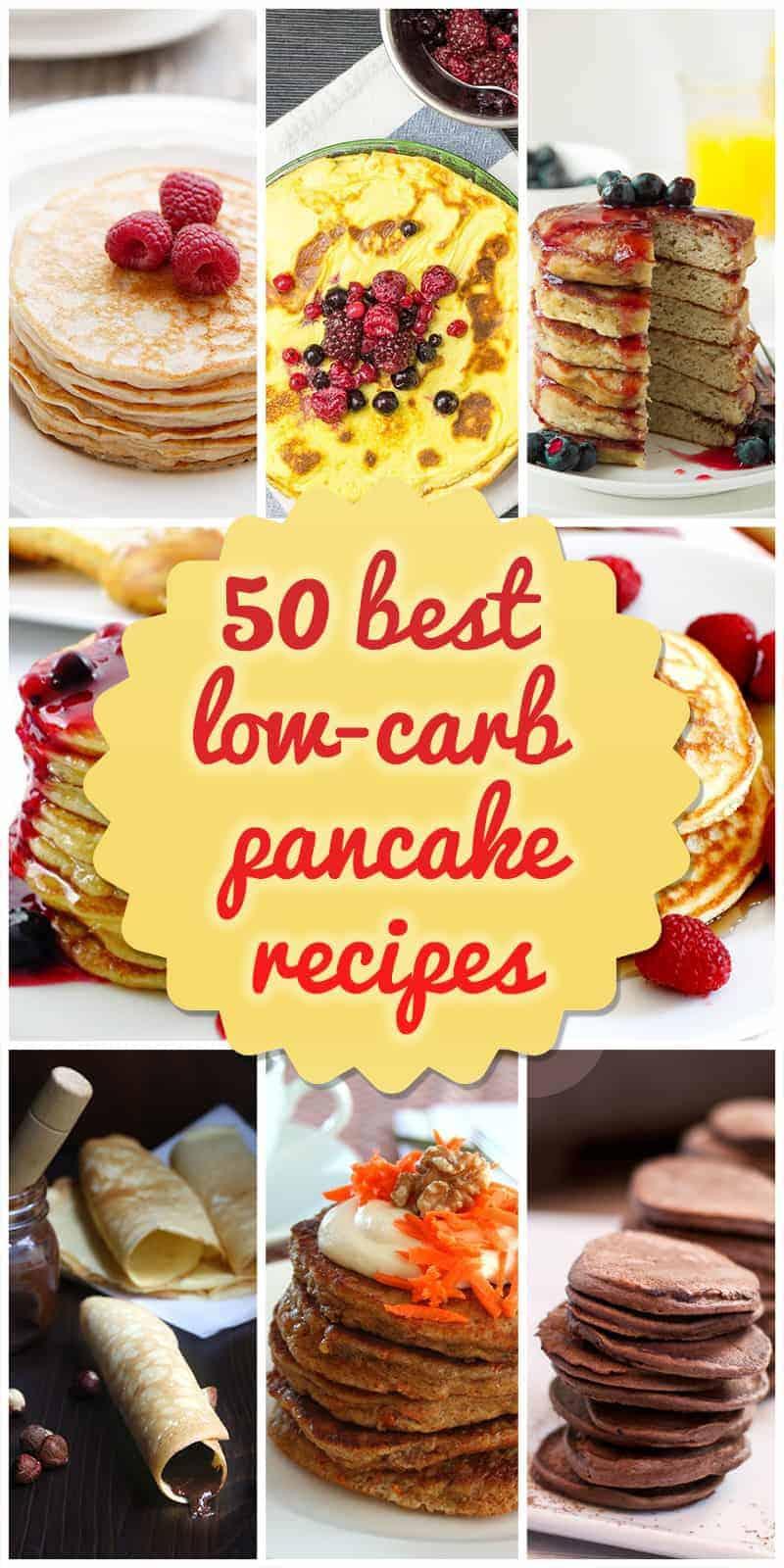 best low-carb pancake recipe ideas