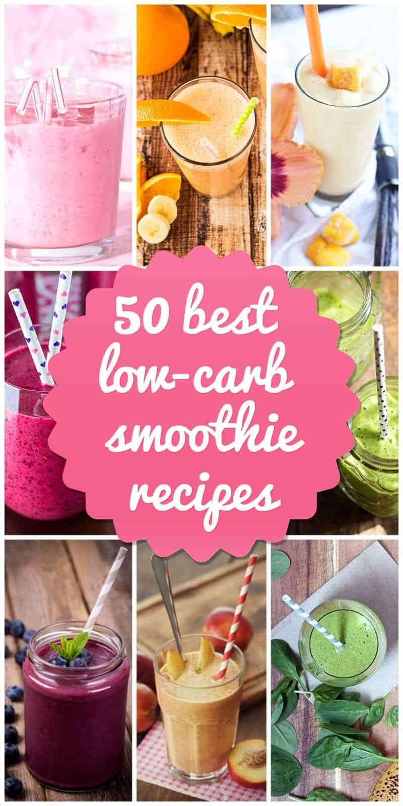 low-carb smoothie recipes