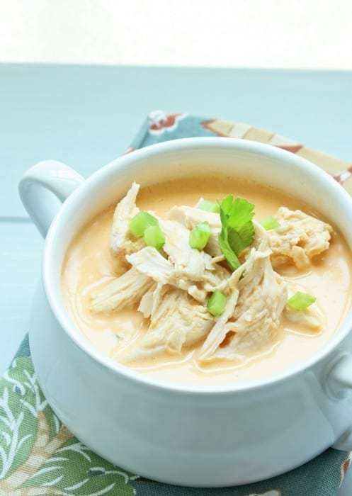 Low-Carb Buffalo Chicken Soup