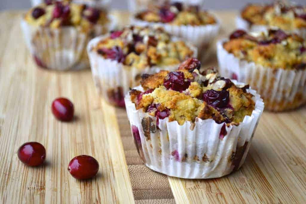 Cranberry, Orange And Pecan Muffins