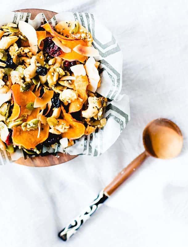 Honey Nut Cluster & Sweet Potato Chip Snack Mix