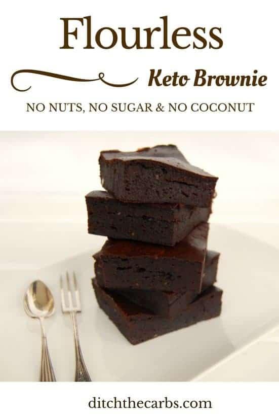 Nut Free Keto Brownie
