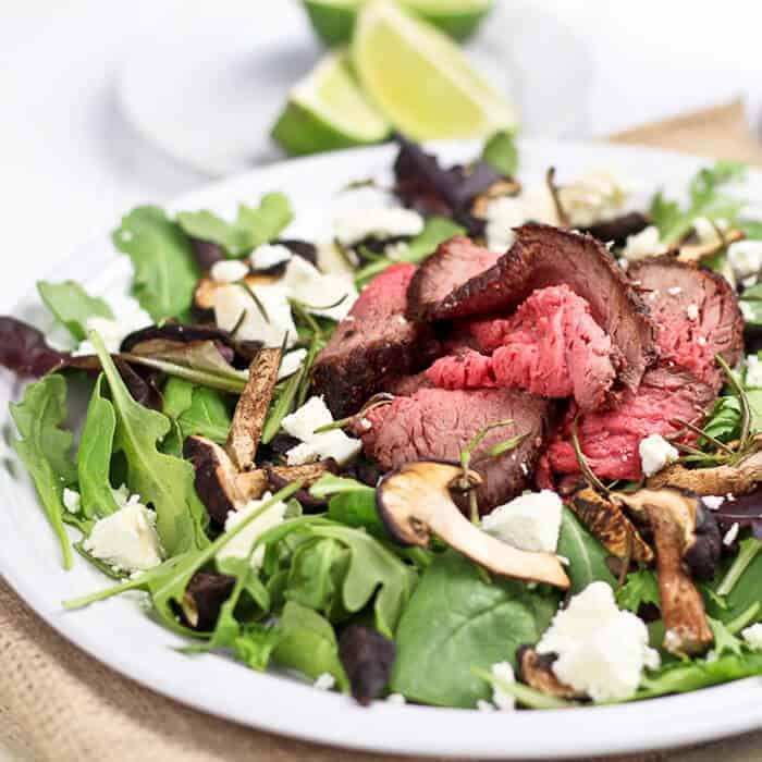 Leftover Roast Beef Salad