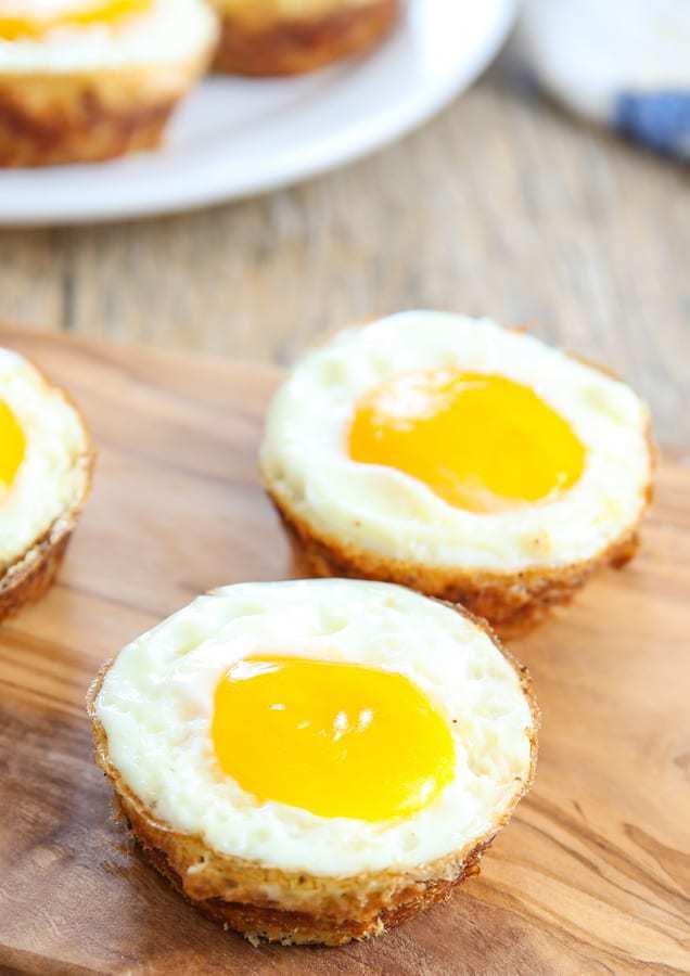 Cauliflower Hash Egg Cups