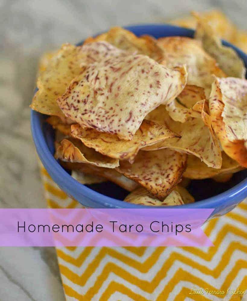 Homemade Taro Chips