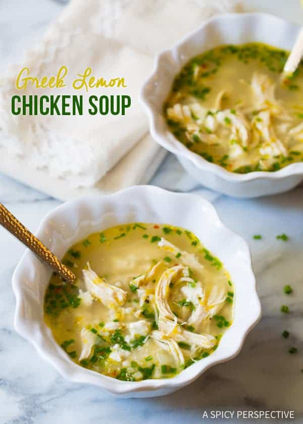Greek Lemon and Chicken Soup