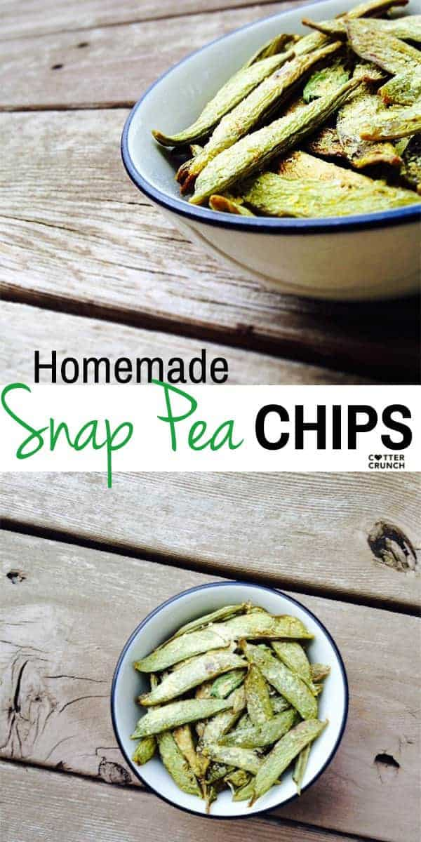 Snap Pea Chips