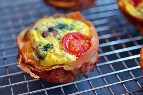 Prosciutto Wrapped Min Frittata Muffins