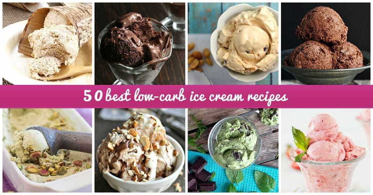 Low-Carb Ice Cream Recipes
