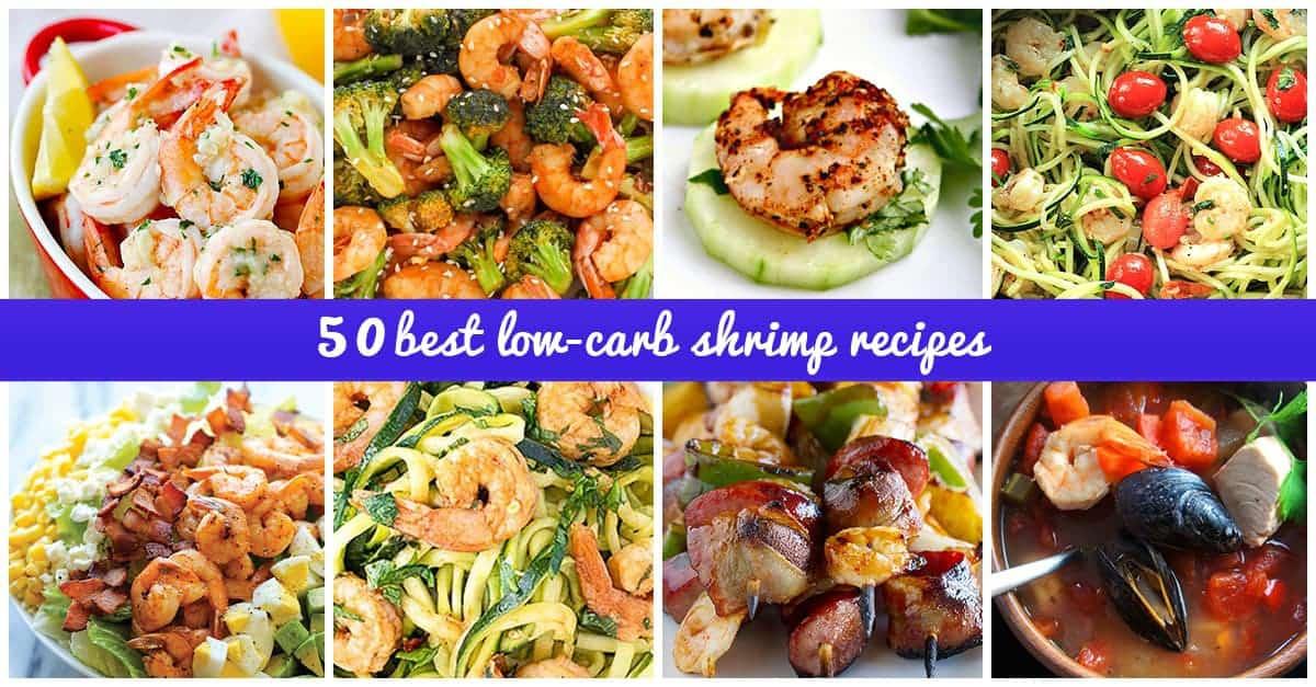 Best Low-carb shrimp recipes