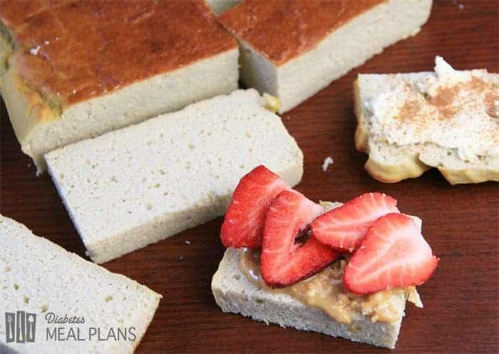 Diabetic Low-Carb Breakfast Cake