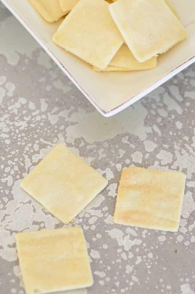 3 Ingredient Gluten-Free Paleo Crackers