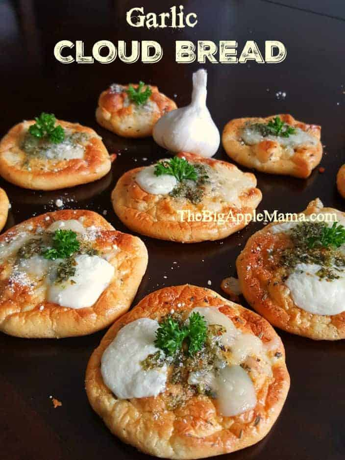 Bread with Garlic And Cheese!