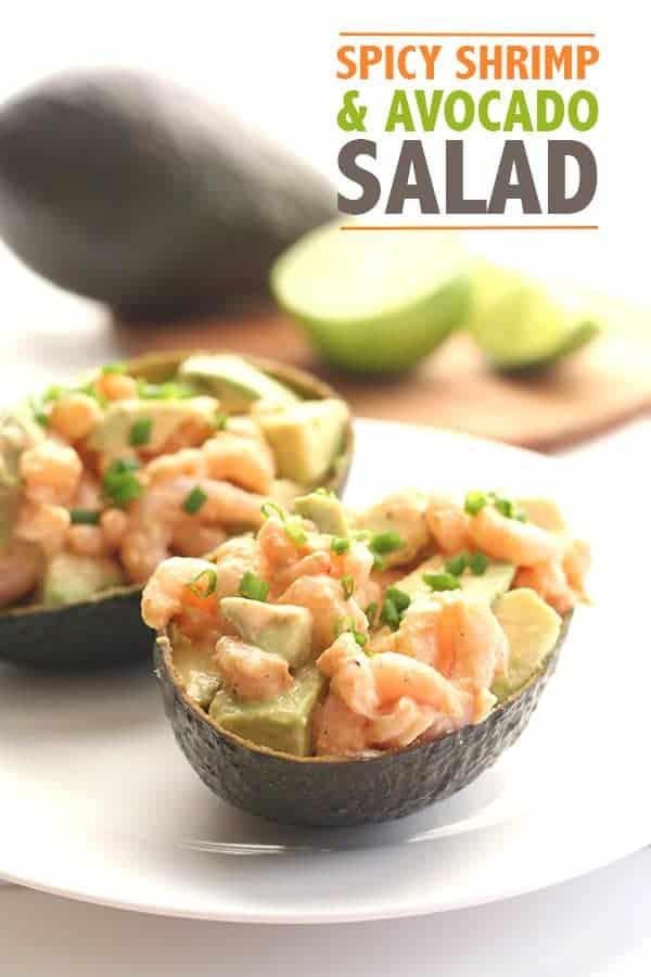 Spicy Shrimp and Avocado Salad