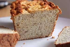 Coconut and Almond Bread