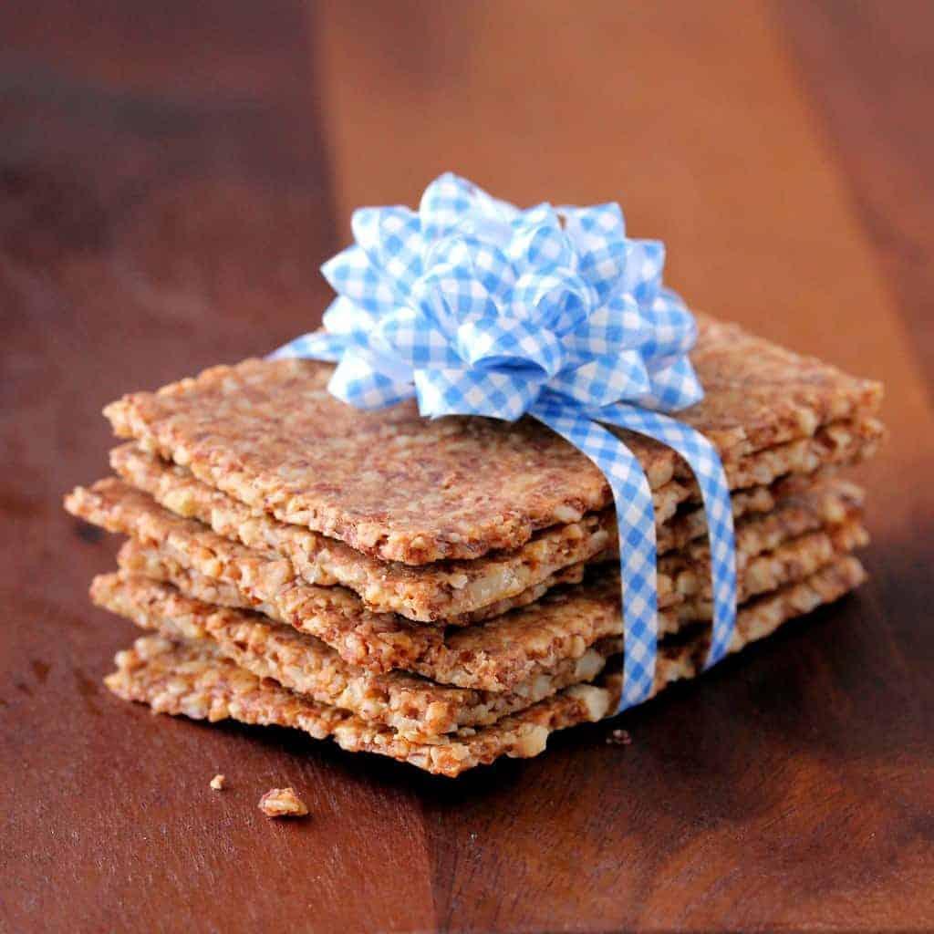 "Gluten-Free ""Whole Grain"" Crackers"