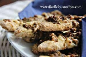 Pesto & Parmesan Bread Sticks