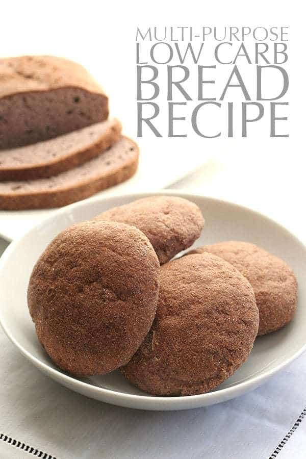 Multi-Purpose Low-Carb Bread Recipe