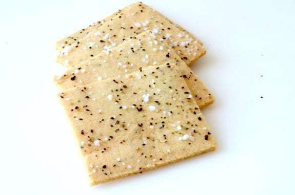 Salt and Pepper Crackers