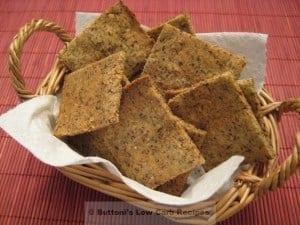 Almond-Flax Crackers