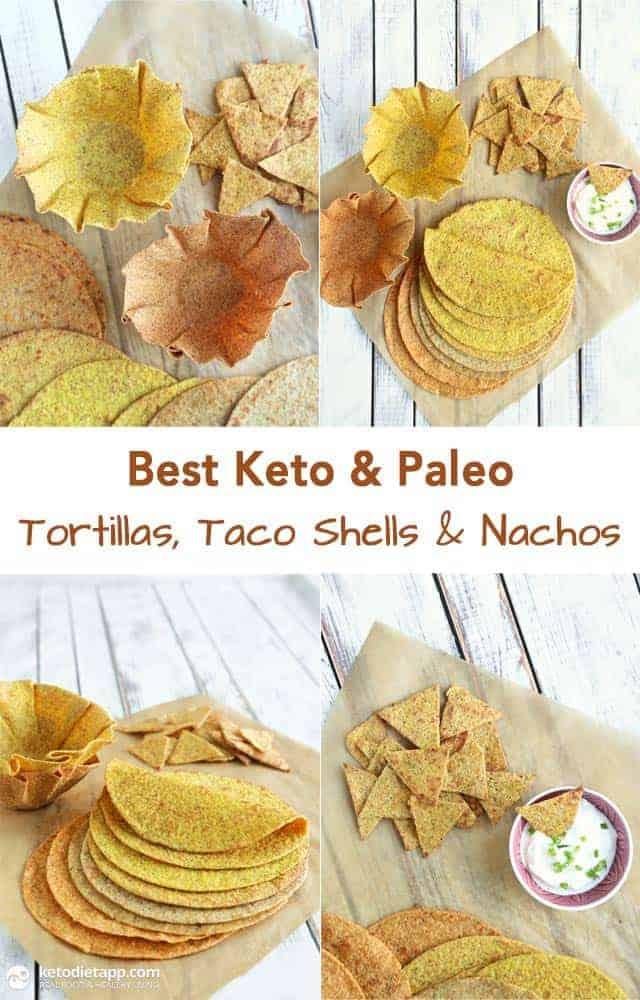 Best Keto and Paleo Tortillas, Taco Shells, and Nachos