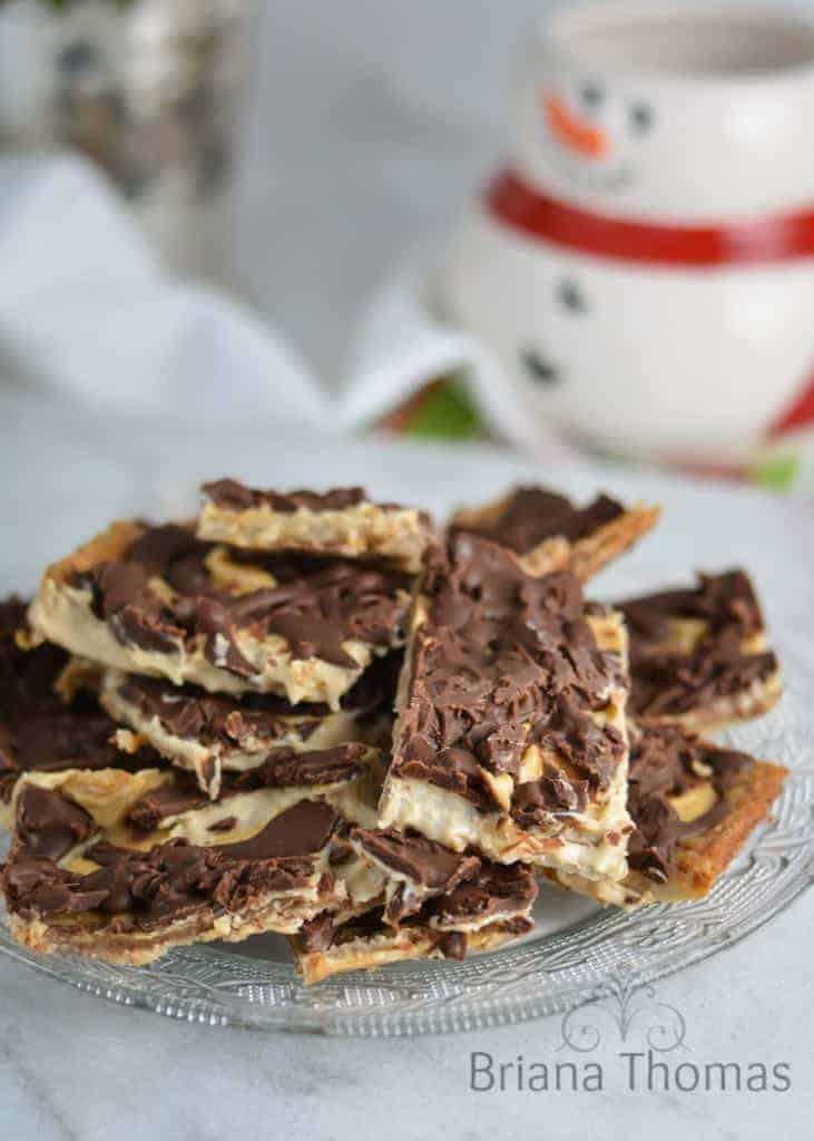 Christmas Cracker Toffee