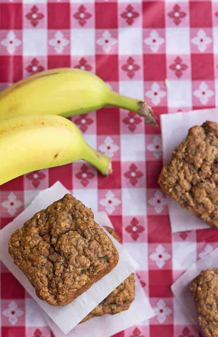 Low-Carb Banana Bread Bites