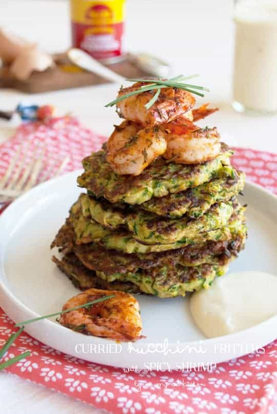 Curried Zucchini Fritters