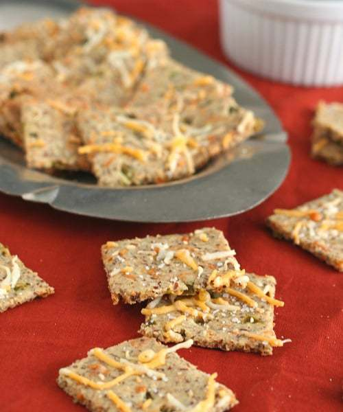 Cheddar Jalapeno Crackers