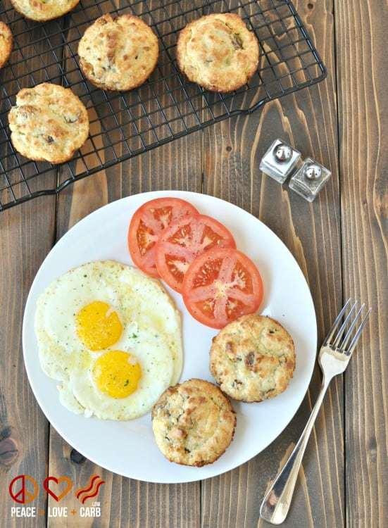 White Cheddar, Sausage Breakfast Biscuits
