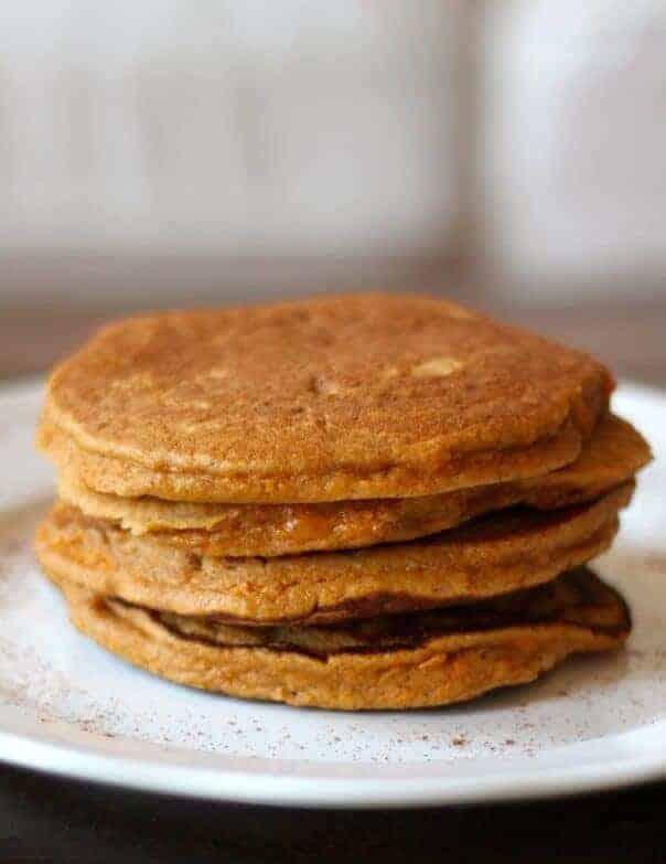 Sweet Potato Paleo Pancakes