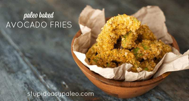 Paleo Baked Avocado Fries