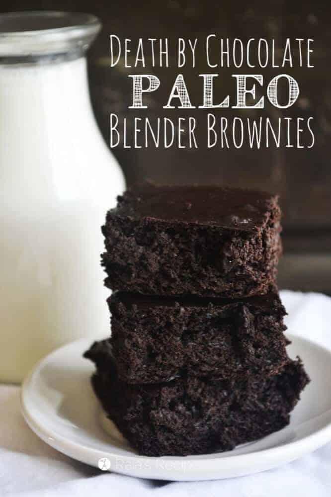 eath By Chocolate Blender Brownies