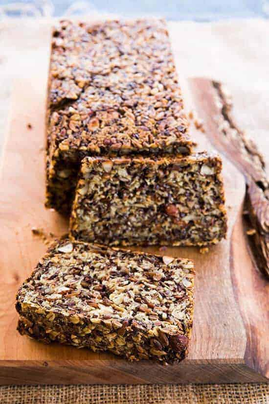 A Hearty Bread Chocked Full Of Seeds