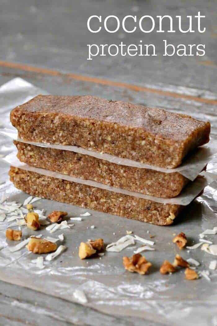 Coconut Protein Bar Recipe
