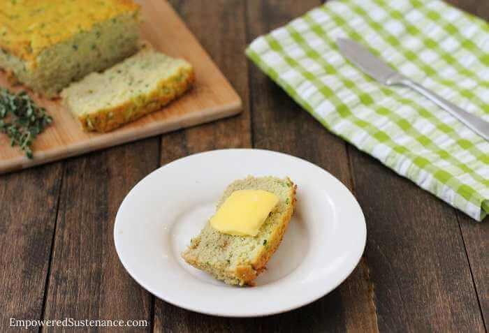 A Low-Carb, Garden Fresh Zucchini Bread