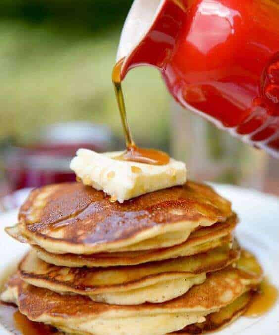 Fluffy Paleo Diet Coconut Flour Pancakes