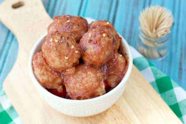 Paleo Maple Pork Meatballs