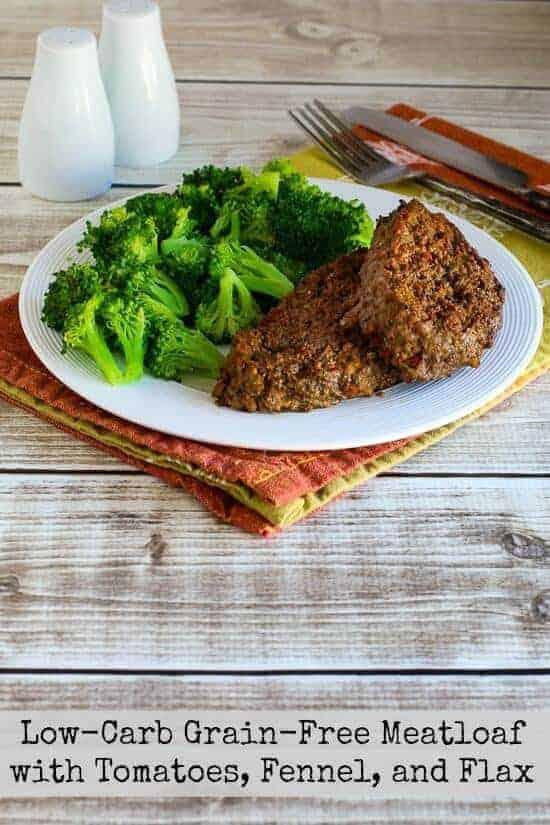 Low-Carb Grain-Free Meatloaf