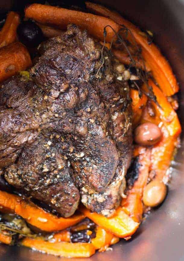 Paleo Slow Cooker Braised Beef